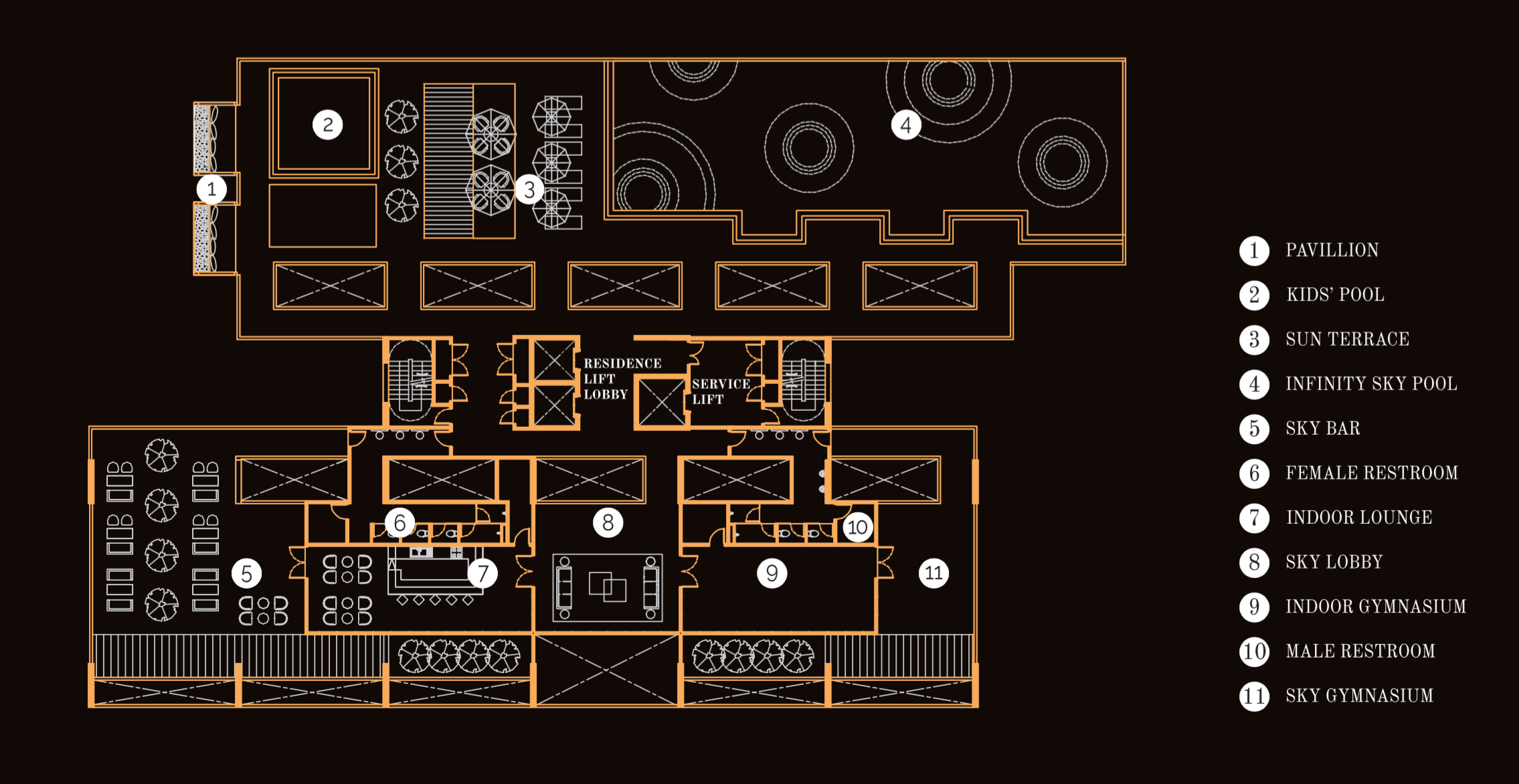 Site Plan of Beacon Executive Suites