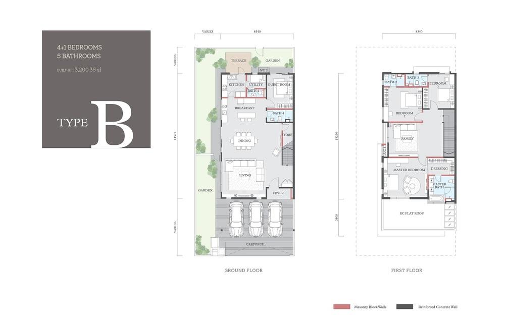 Cheria Type B Floor Plan
