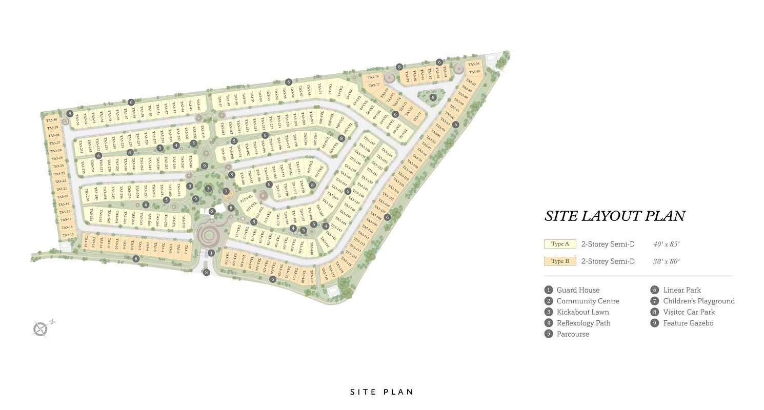 Site Plan of Cheria