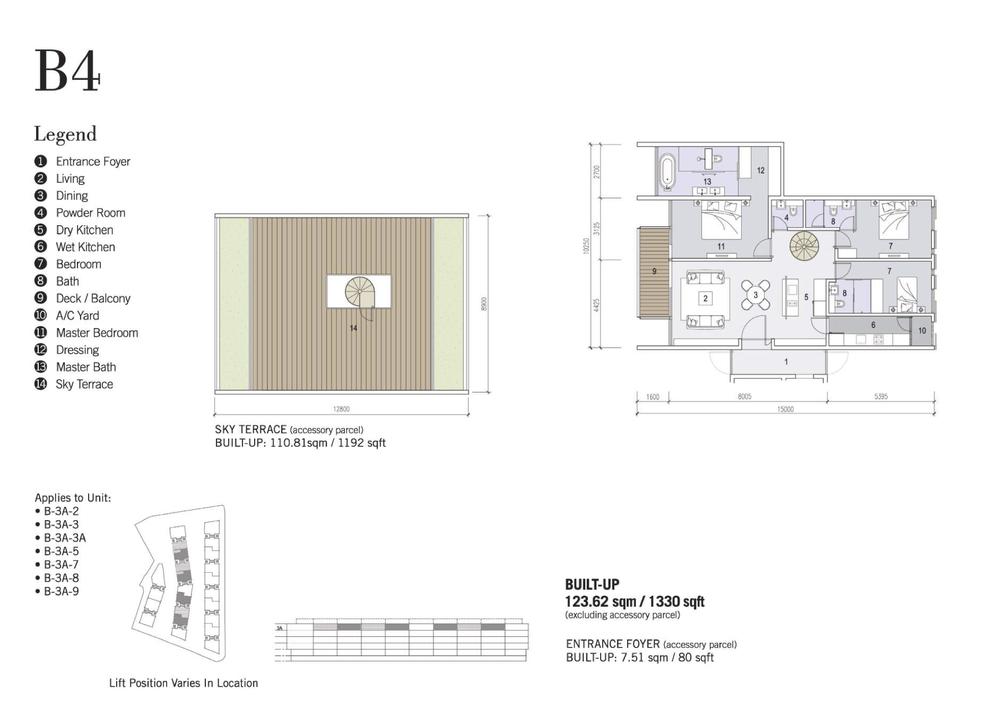 Shorefront Type B4 Floor Plan