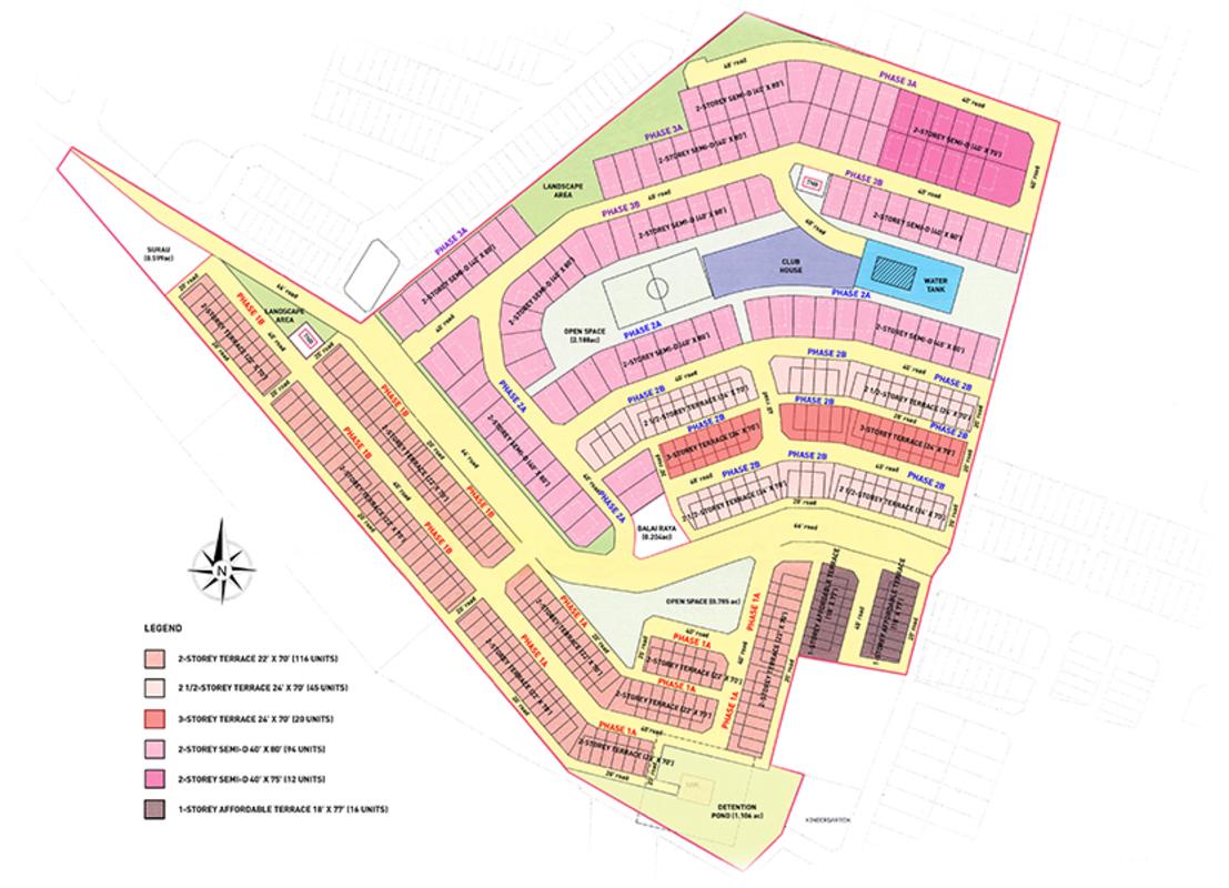 Master Plan of Shang Garden
