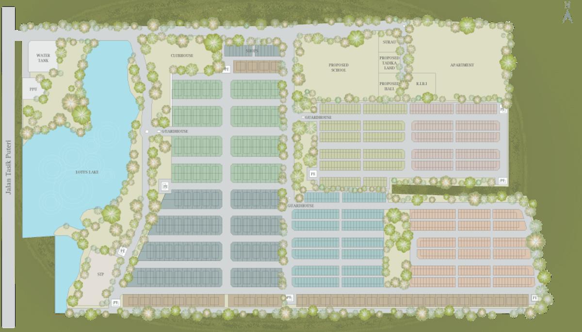 Master Plan of M Residence 2