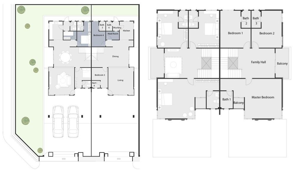 Ivory Villas Phase 2 - Standard Unit Floor Plan