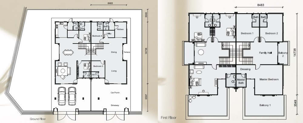 Citra Hill Aria Park - Type D Floor Plan