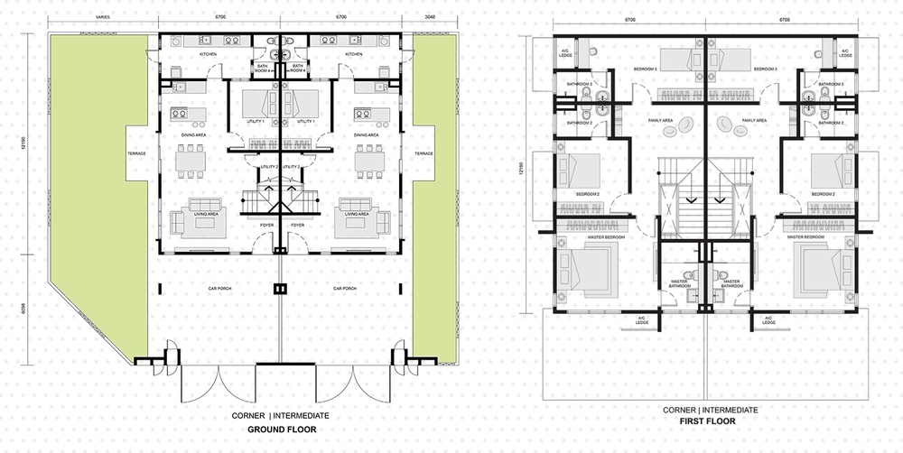 Setia EcoHill 2 Escada Floor Plan
