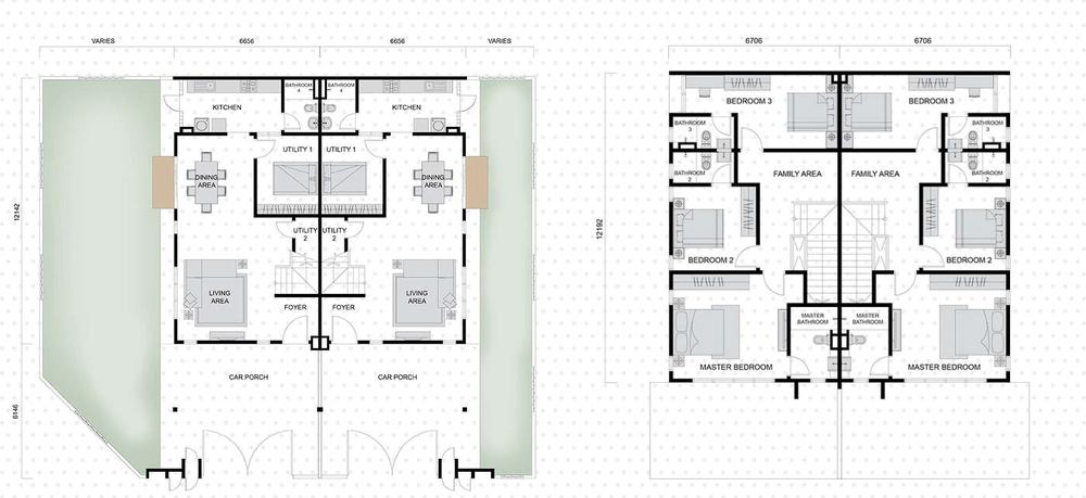 Setia EcoHill 2 Everna 2 Floor Plan