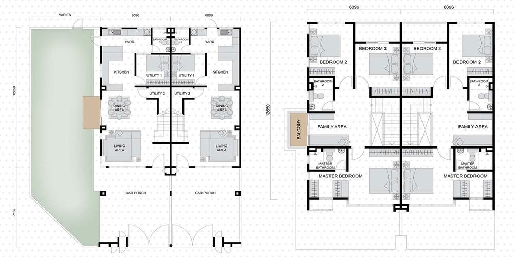 Setia EcoHill 2 Alexus 1 Floor Plan