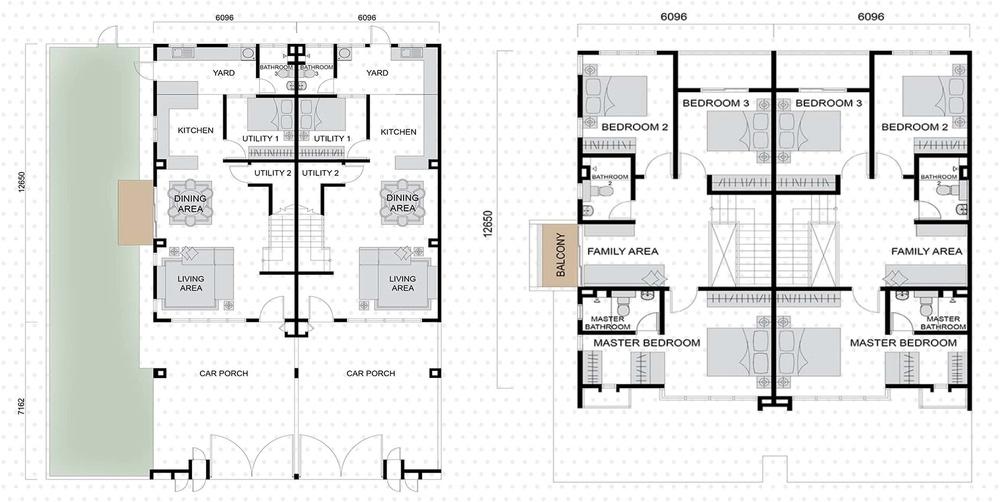 Setia EcoHill 2 Alexus 2 Floor Plan