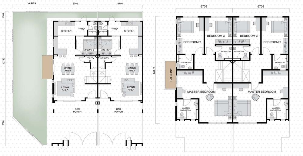 Setia EcoHill 2 Clarus 1 Floor Plan