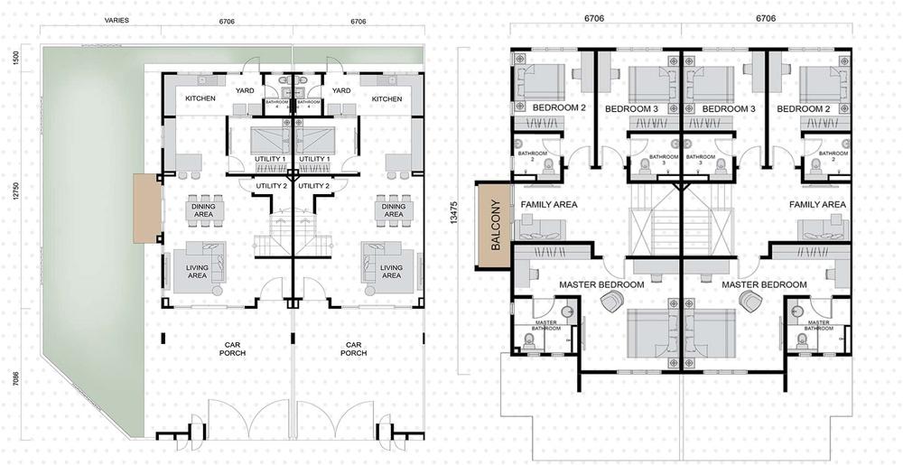 Setia EcoHill 2 Clarus 2 Floor Plan