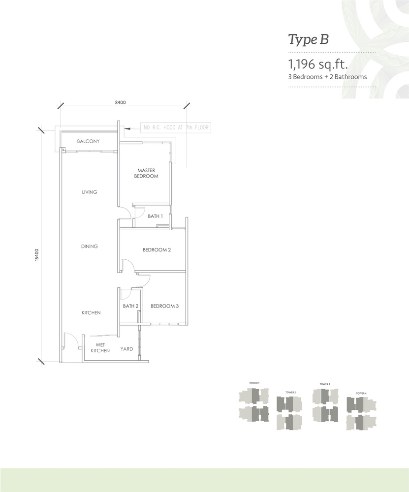 Kaleidoscope Type B Floor Plan