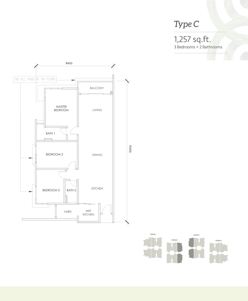 Kaleidoscope Type C Floor Plan