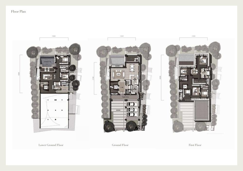 Seri Beringin Villa 1 Floor Plan