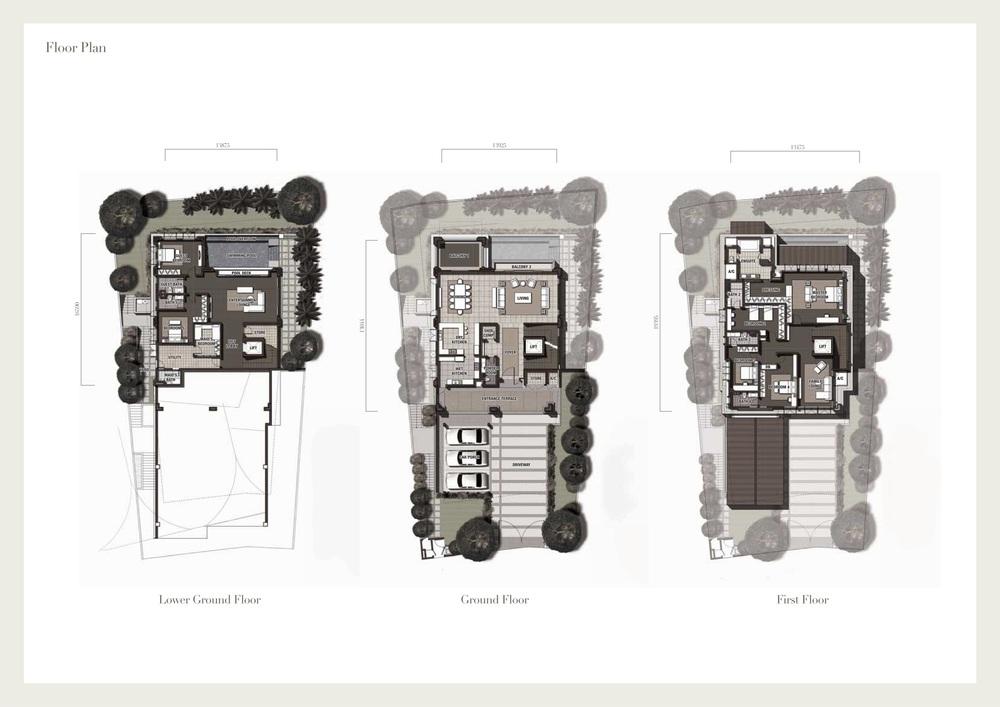 Seri Beringin Villa 2 Floor Plan