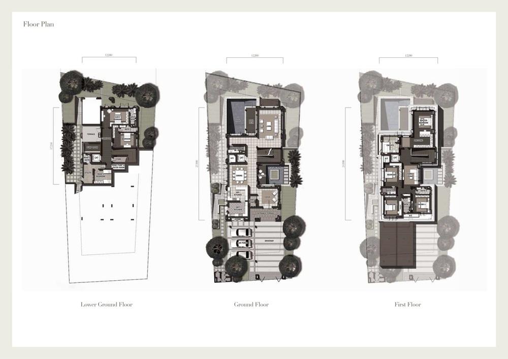 Seri Beringin Villa 3 Floor Plan