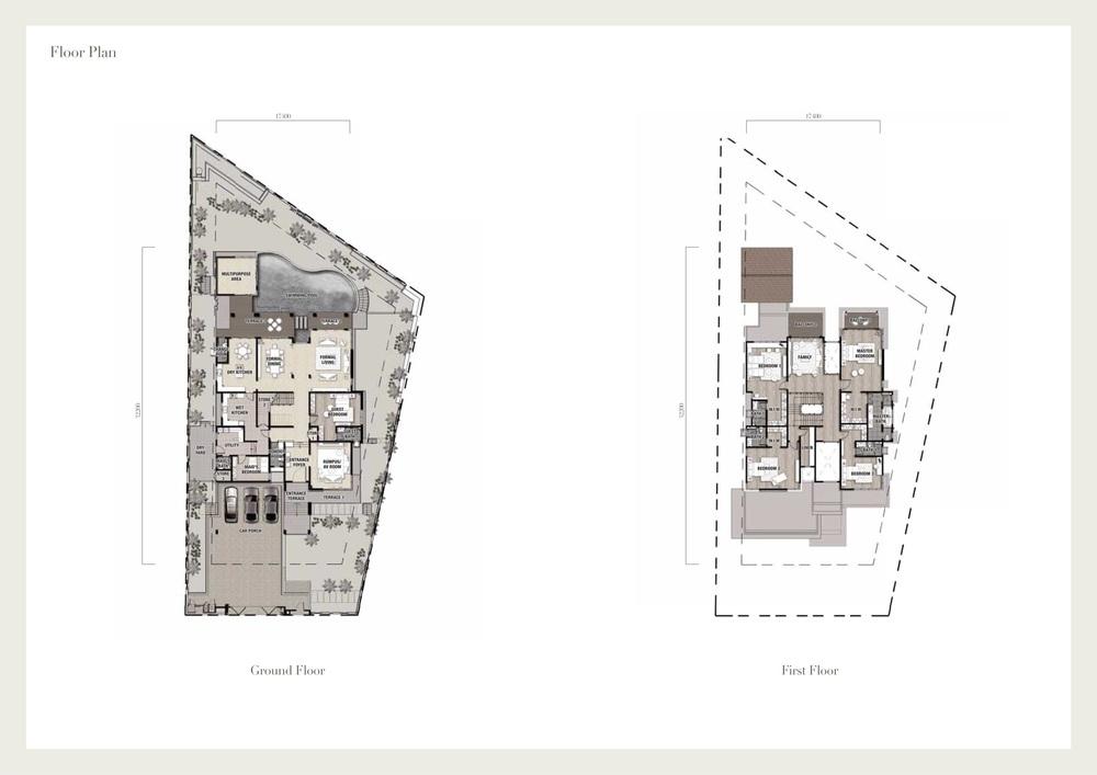 Seri Beringin Villa 7 Floor Plan