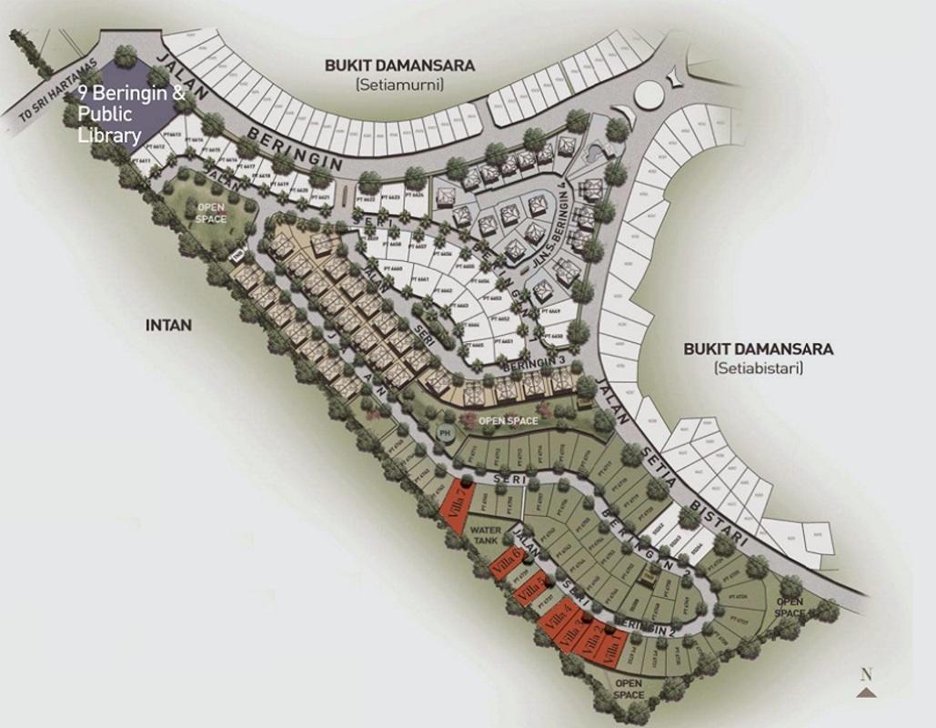 Master Plan of Seri Beringin