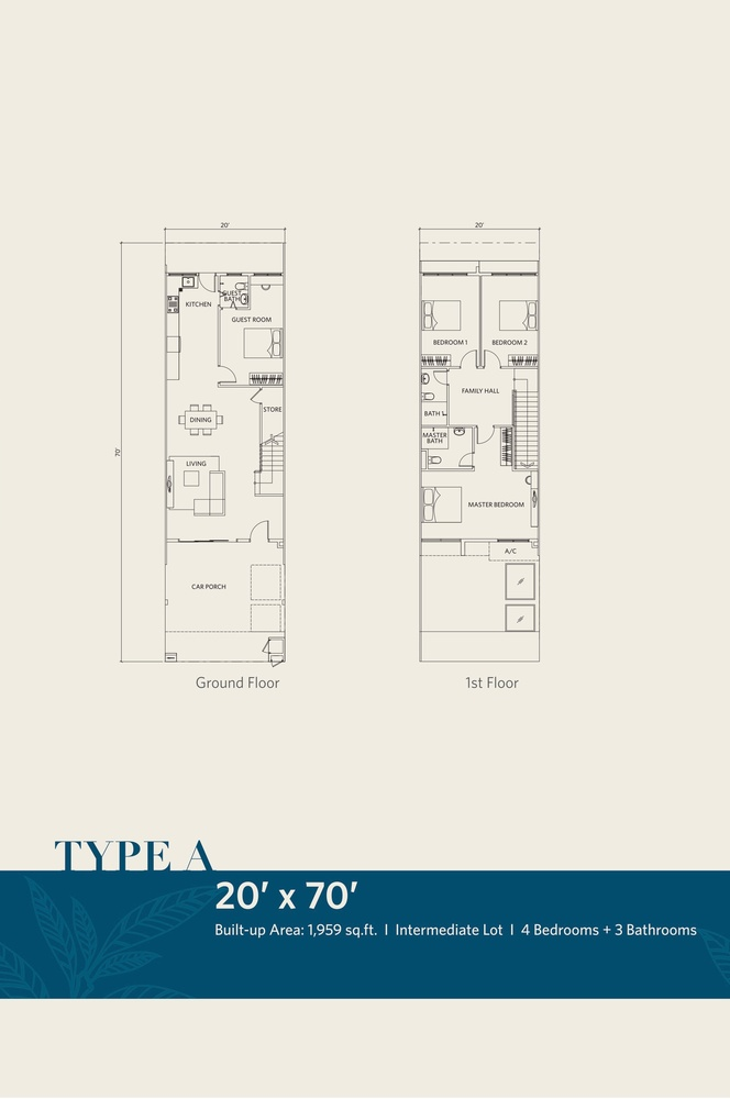 CasaView @ Cybersouth Type A Floor Plan