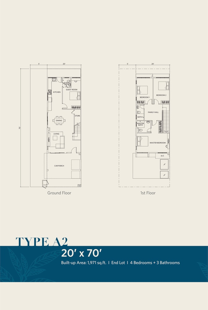 CasaView @ Cybersouth Type A2 Floor Plan