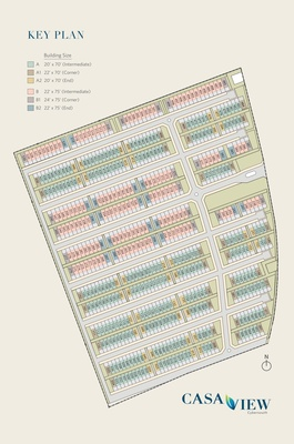 Site Plan of CasaView @ Cybersouth