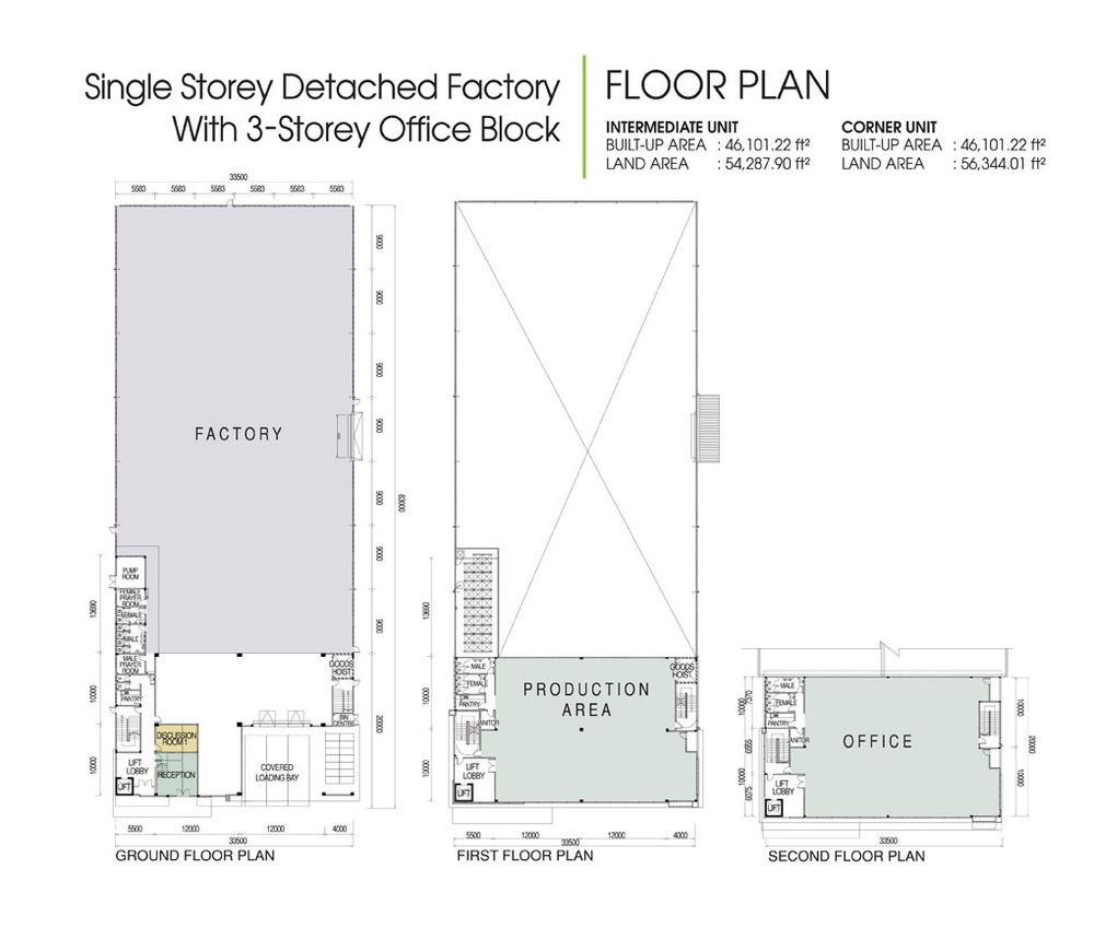 District 6 @ SiLC Standard Unit Floor Plan