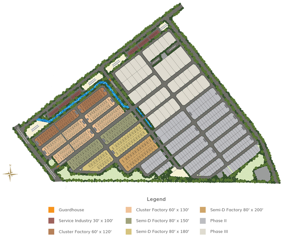 Master Plan of Eco Business Park II