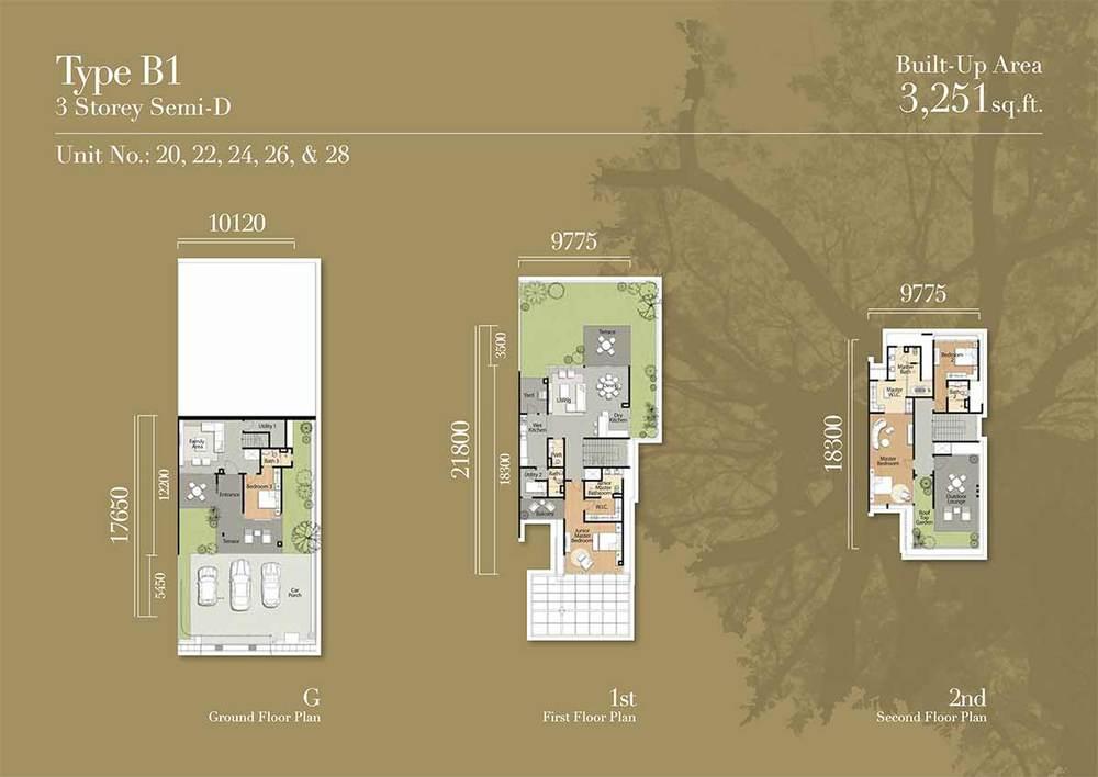 Tréhaus Type B1 Floor Plan