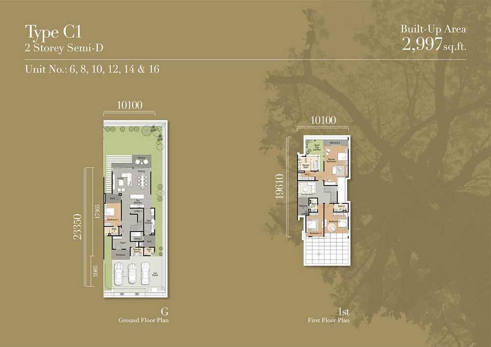 Tréhaus Type C1 Floor Plan