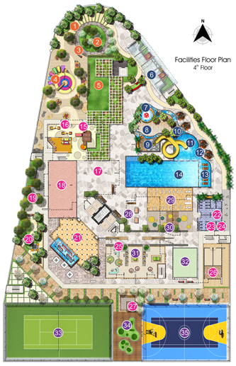 Site Plan of D'Festivo Residences
