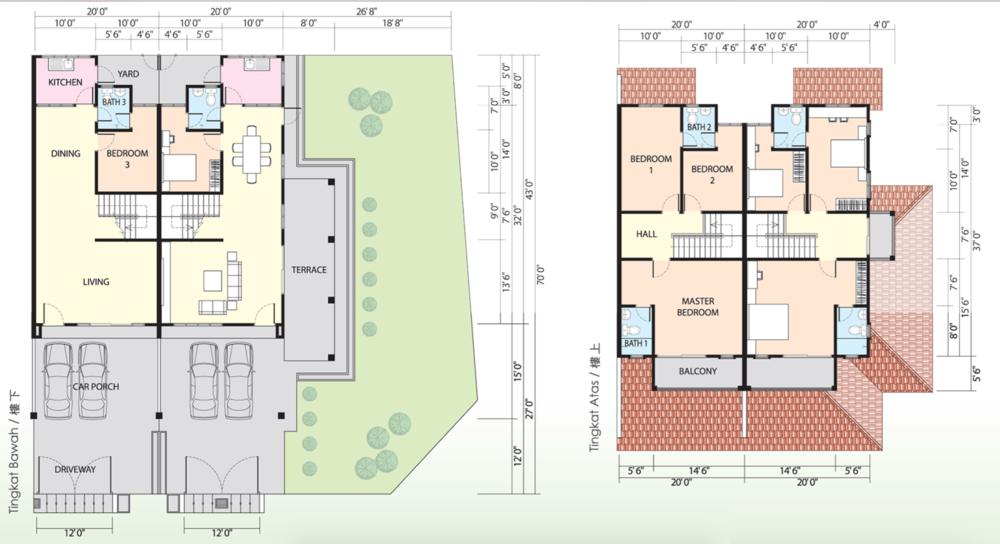 Putra Residences @ Bandar Baru Putra Standard Floor Plan