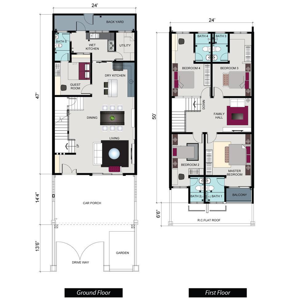 Pine Park Maple Floor Plan