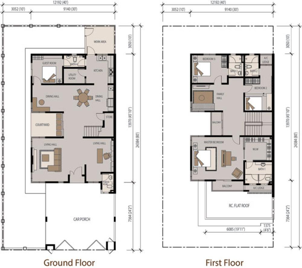 Grand Retreats 2 Abby Floor Plan