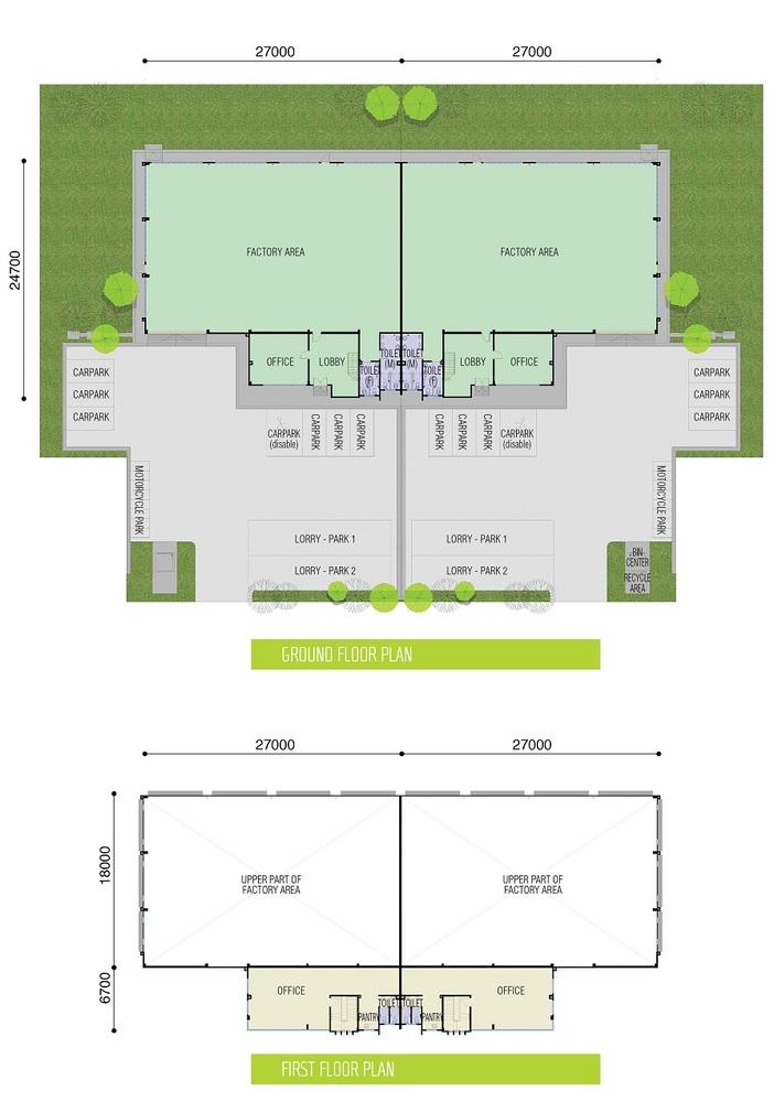 Taman Industri Jaya Phase 2 Floor Plan