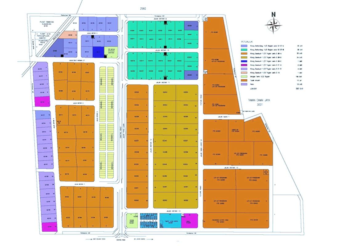 Master Plan of Taman Industri Jaya