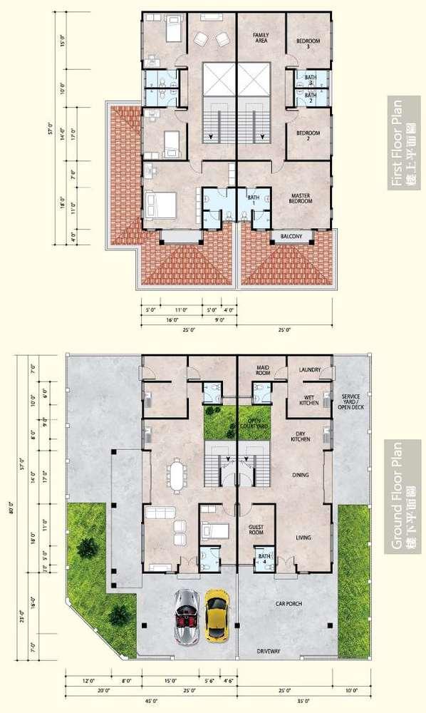 Klebang Ria Phase 5 Floor Plan