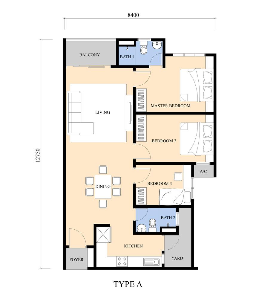 review for iris residence bandar sungai long propsocial