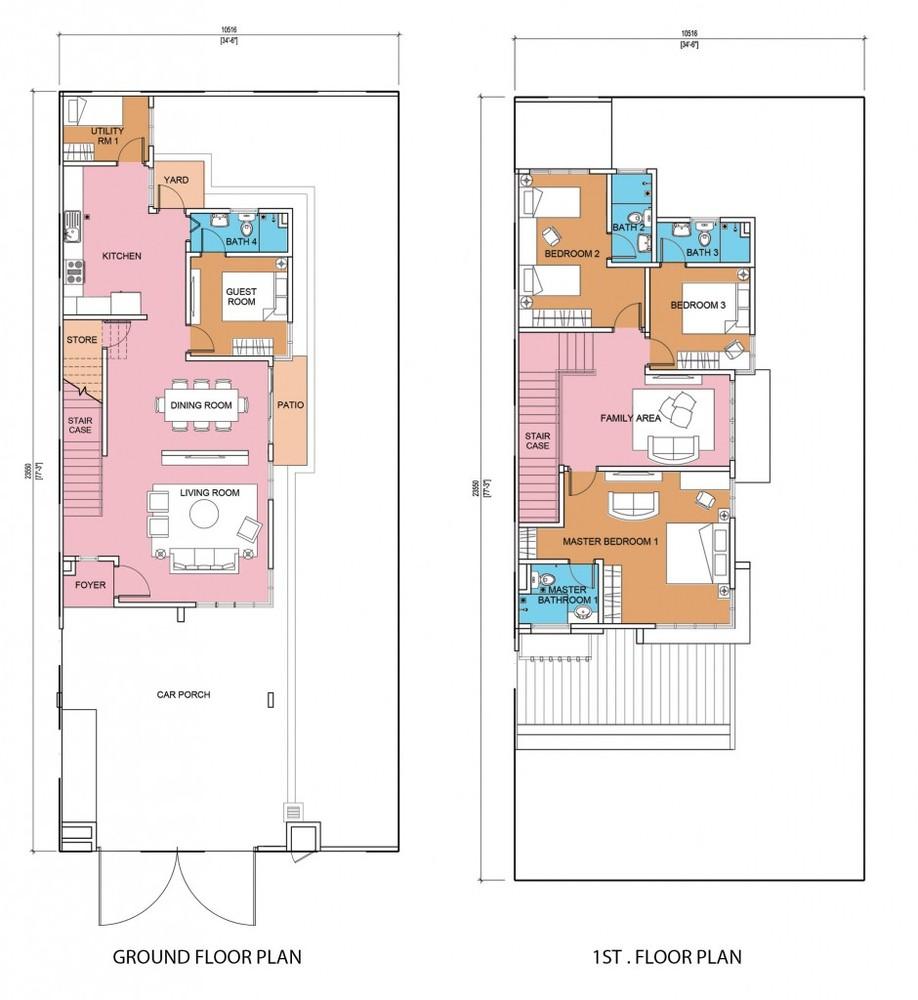 Seri Residensi Primrose Floor Plan