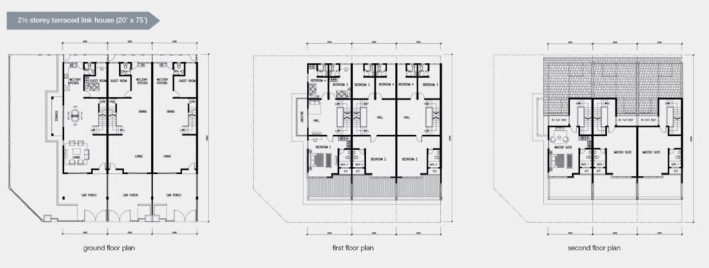 Mutiara Residences Phase 1 Floor Plan