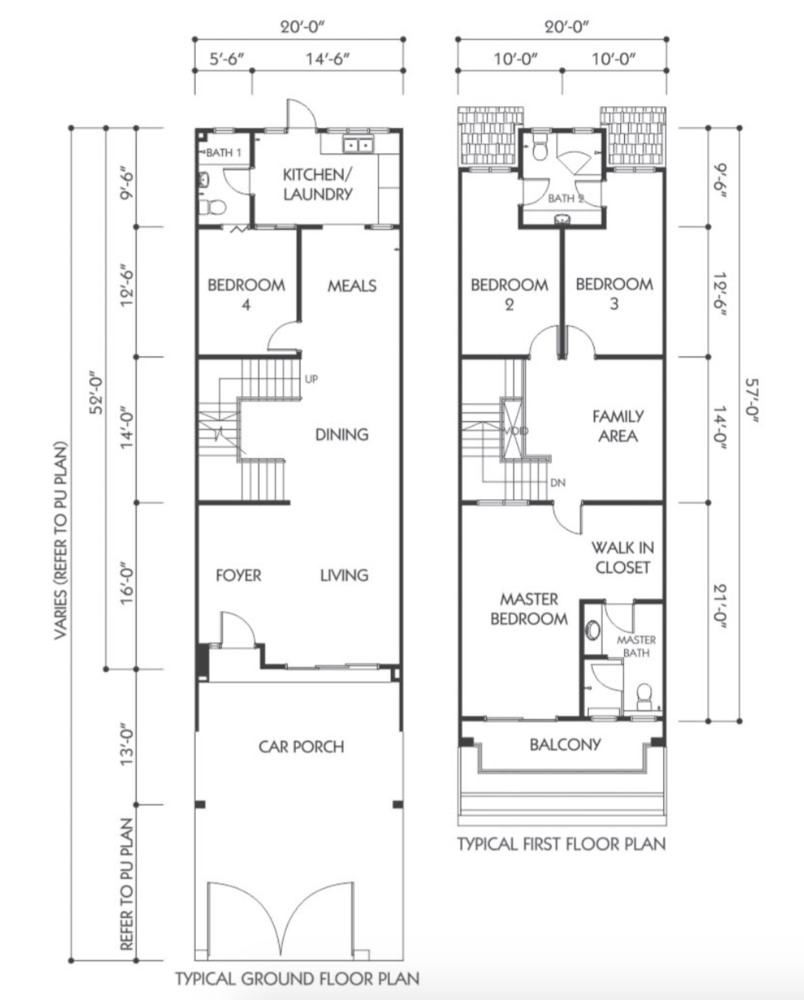 Bandar Seri Botani Seri Beringin Phase 7.3 (1) Type B5 Floor Plan
