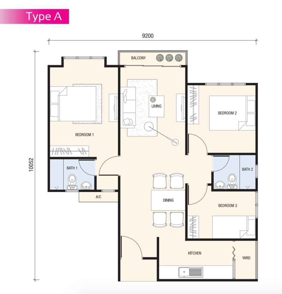Review for skyawani 2 jalan ipoh propsocial floor plans ccuart Choice Image