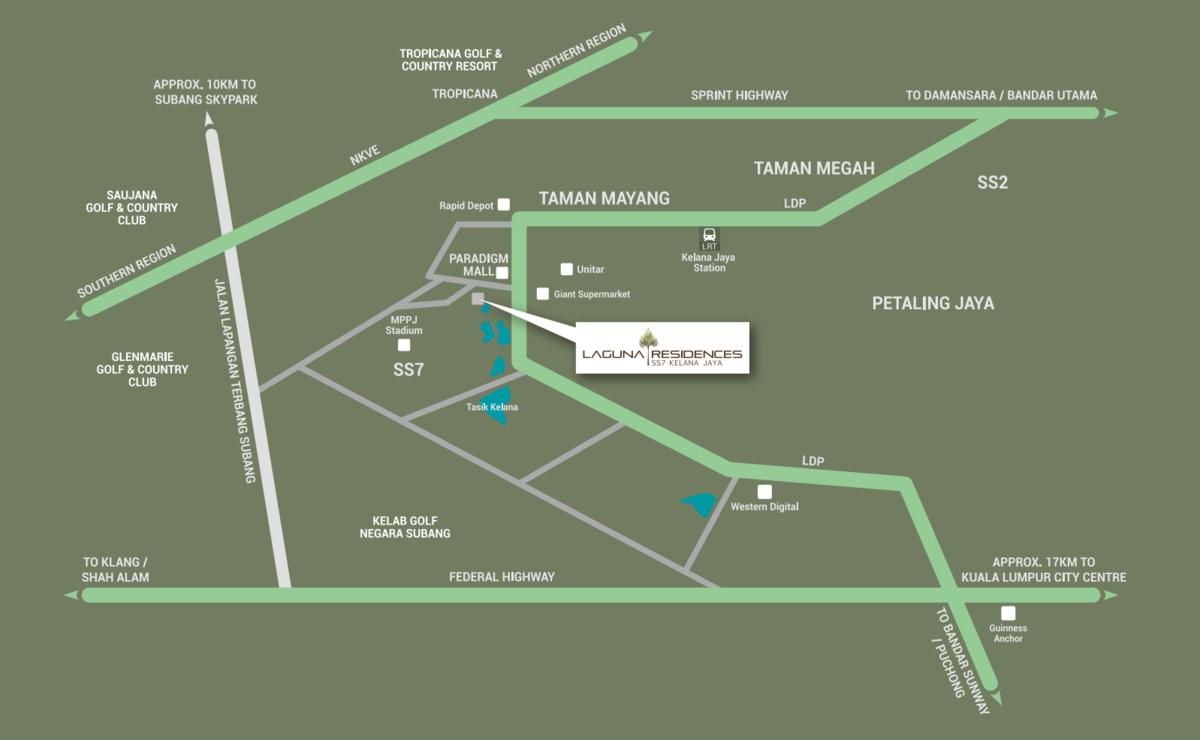 Master Plan of Laguna Residences