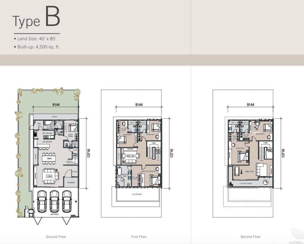 Kalista Park Homes Type B Floor Plan