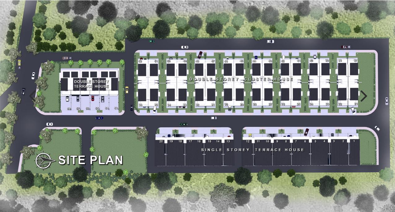 Site Plan of Mutiara Keruing