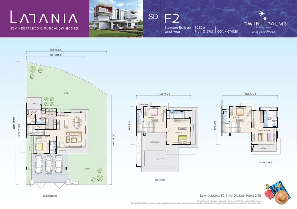 Latania Type SDF2 Floor Plan