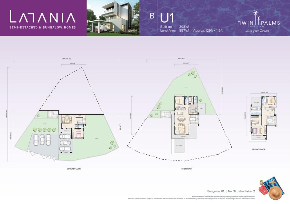 Latania Type BU1 Floor Plan
