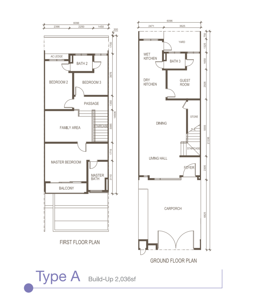 Oasis Kajang Type A Floor Plan