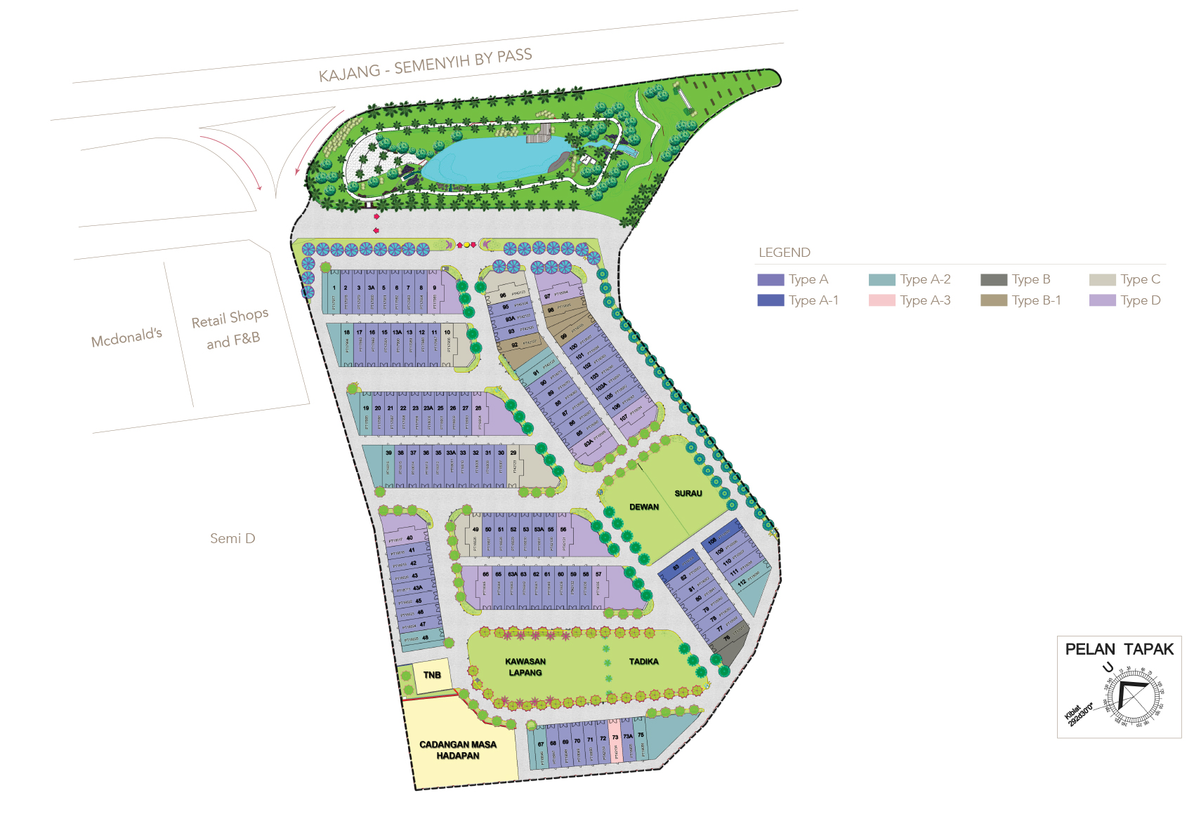 Site Plan of Oasis Kajang