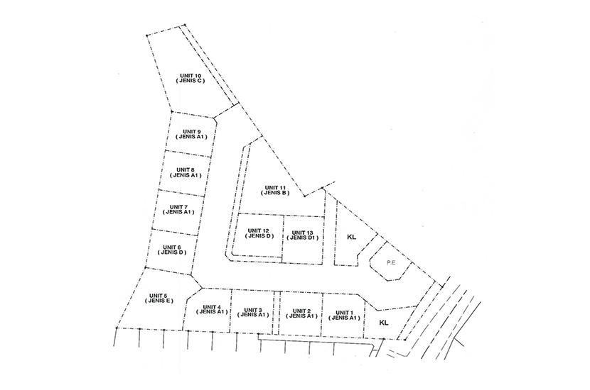 Site Plan of Taman Langat Idaman