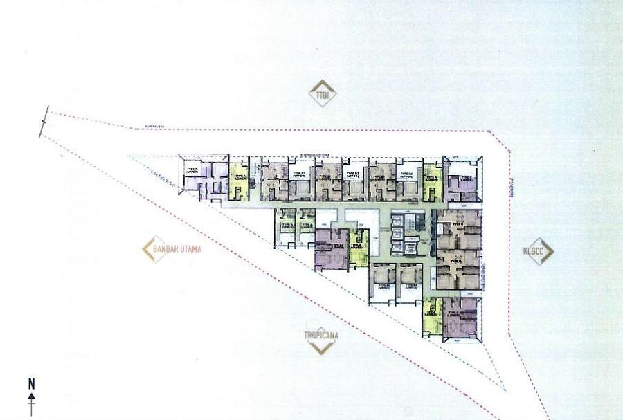 Site Plan of TTDI Segaris