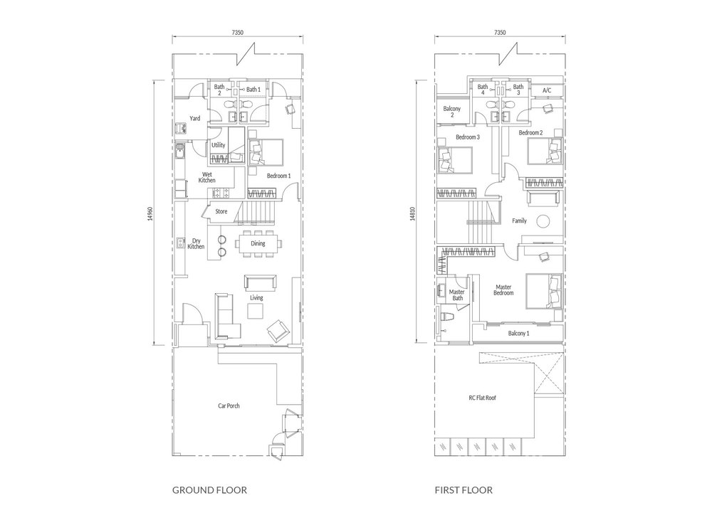 Redup Type A Floor Plan
